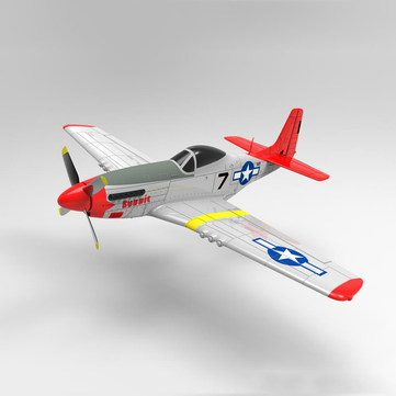Coupone for Volantex RC 768-1 Mustang P-51D 750mm Wingspan EPO Warbird RC Airplane RTF