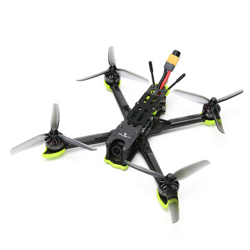 Coupone for iFlight Nazgul5 V2 240mm 5 Inch 4S Freestyle FPV Racing Drone BNF/PNP Caddx Ratel Cam SucceX-E F4 45A ESC 2207 2750KV Motor