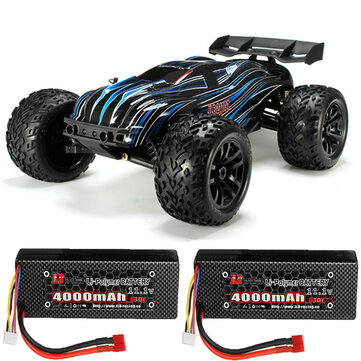 Coupone for JLB Racing CHEETAH w/ 2 Battery 120A Upgraded 1/10 2.4G 4WD 80km/h Brushless RC Car Truggy 21101 RTR Model