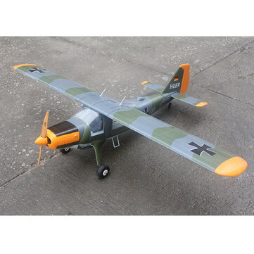 Coupone for TAFT DORNIER DO27 1600mm Wingspan 2600g Takeoff Weight Camouflage/Zebra Pattern RC Airplane KIT