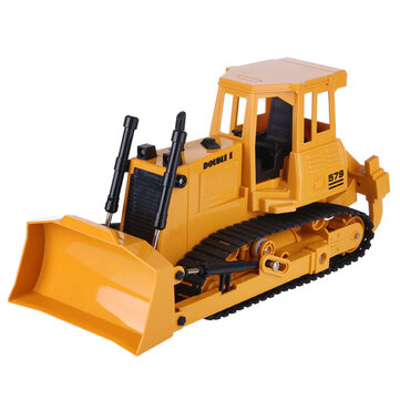 Coupone for Double E E579 1/20 2.4G 9CH RC Loader Tractor Truck Bulldozer Light Sound Engineering Vehicles Models Toys for Kids Children