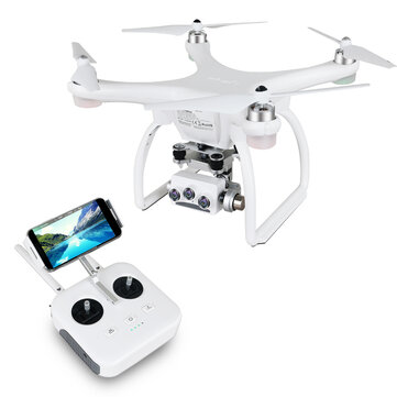 Coupone for UPair 2 Ultrasonic 5.8G 1KM FPV 3D + 4K + 16MP Camera With 3 Axis Gimbal GPS RC Quadcopter Drone RTF