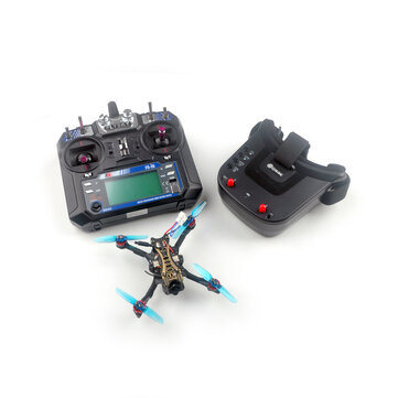 Coupone for Eachine Novice-II V2.0 1-2S 2.5 Inch Toothpick FPV Racing Drone RTF & Fly more w/ Flysky FS-I6 2.4G Transmitter 5.8Ghz 40CH VR009 Goggles