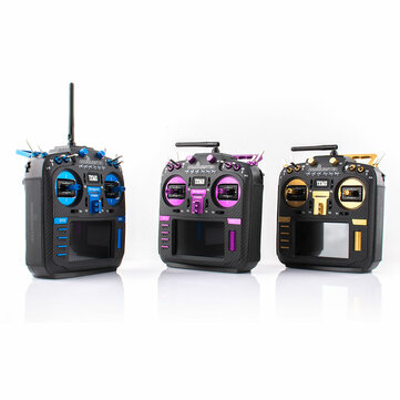 Coupone for RadioMaster TX16S MAX Limited Edition 2.4G 16CH Hall Sensor Gimbals Multi-protocol RF System OpenTX Mode2 Transmitter with CNC and Leather for RC Drone