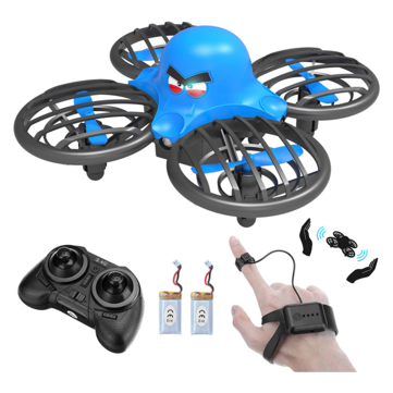 Coupone for FLYHAL F111 Mini Drone Gesture Sensing Control 360° Flip LED Light Altitude Hold RC Quadcopter