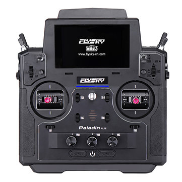 Coupone for Flysky FS-PL18 Paladin 2.4G 18CH Radio Transmitter with FS-FTr10 Receiver HVGA 3.5 Inch TFT Touch Screen for RC FPV Racing Drone Airplane Helicopter Vehicle