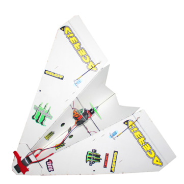 Coupone for 550mm Wingspan DIY Magic Board Paper RC Airplane RC Plane PNP for Beginner