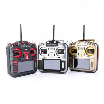 Coupone for RadioMaster TX16S MAX Edition 2.4G 16CH Hall Sensor Gimbals Multi-protocol RF System OpenTX Mode2 Transmitter with CNC and Leather for RC Drone