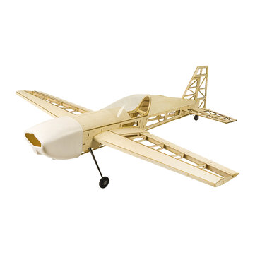 Coupone for EXTRA 330 Upgraded 1000mm Wingspan Balsa Wood Building RC Airplane Kit