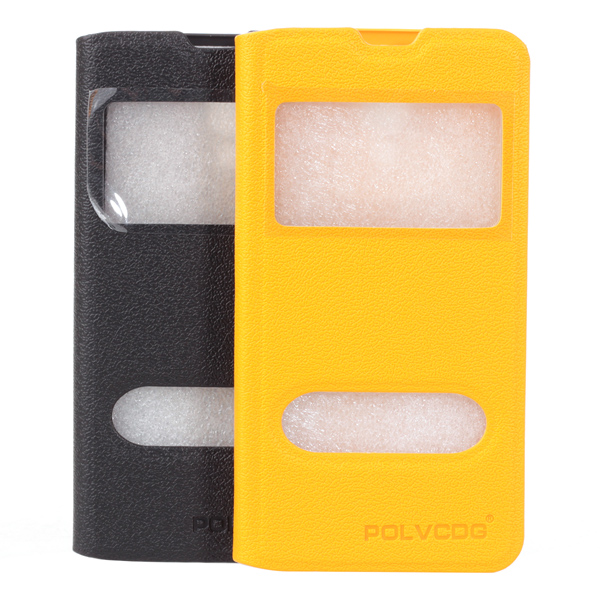 Fashion View Windows Flip Leather Cover For Xiaomi