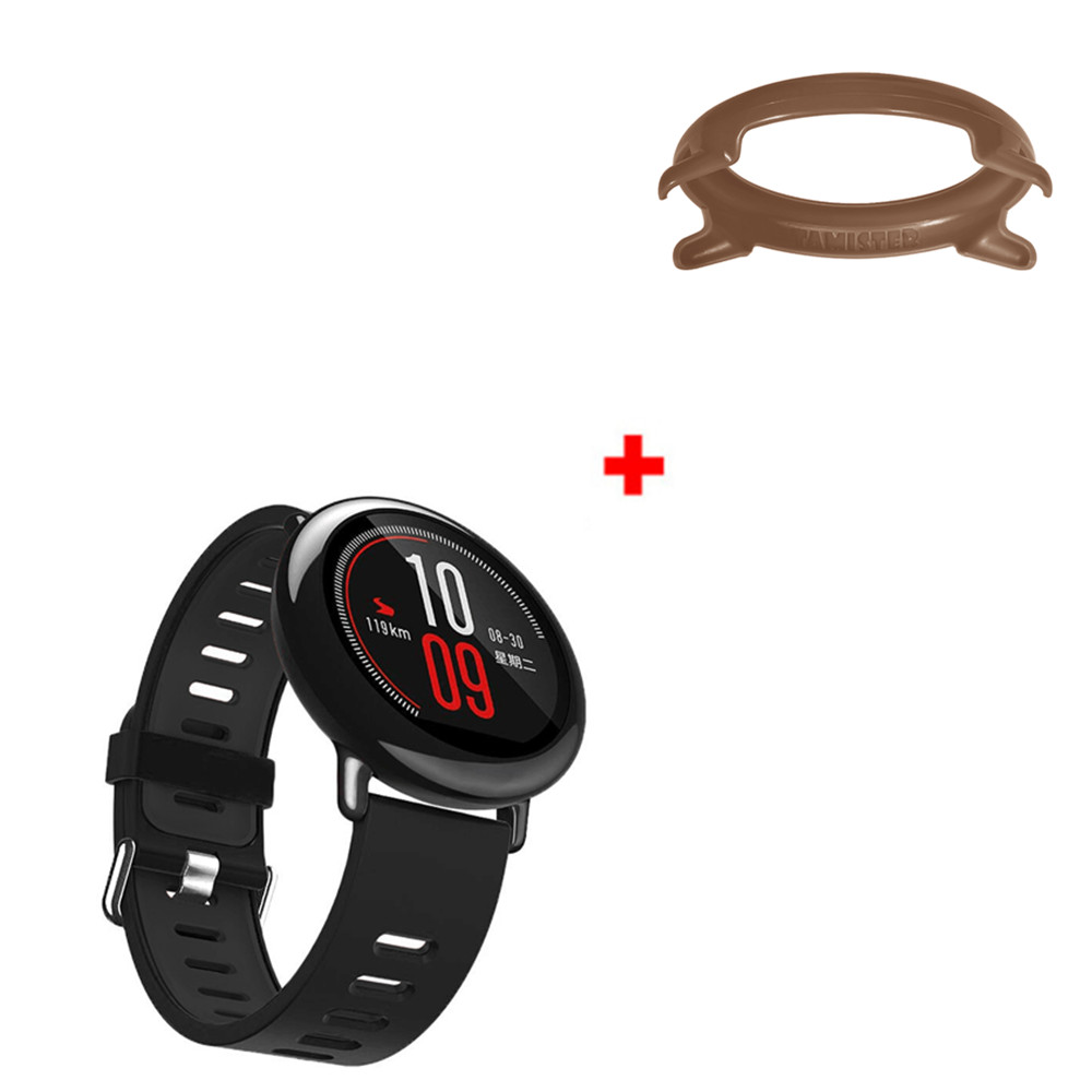 22mm Double Color Silicone Watch Band Plus Colorful PC