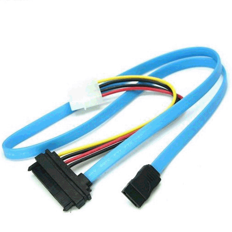 70cm SAS Serial Attached SCSI SFF-8482 to SATA HDD Hard