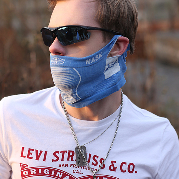 Mens Dustproof Ski Face Mask Winter Warm Cotton Breathable Mouth Muffs Mask For Outdoor