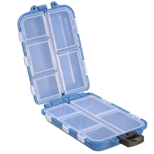 Tackle Box Storage Case Fly Fishing Lure Hook Bait 10/1