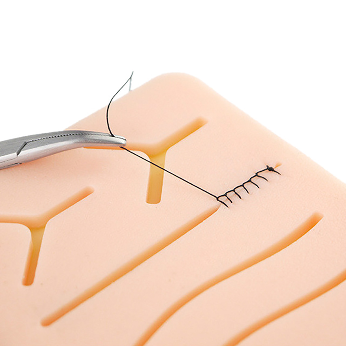Surgical Simulated Skin Muscle Suture Practice Student Silicone Pad Training