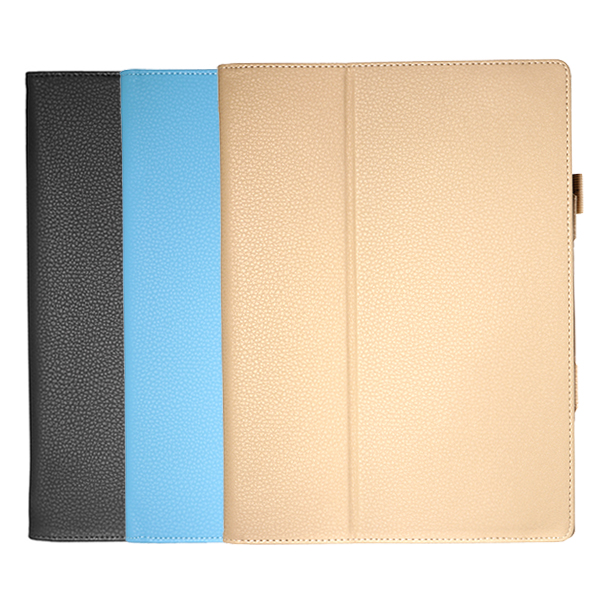 PU Leather Folding Stand Tablet Case Cover For Mi