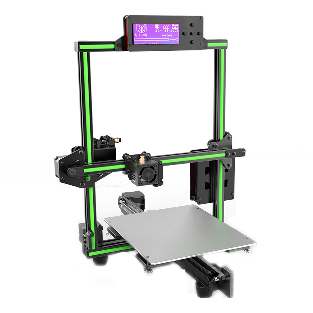 Anet E2 DIY Aluminum Alloy Frame 3D Printer Kit Low Noise