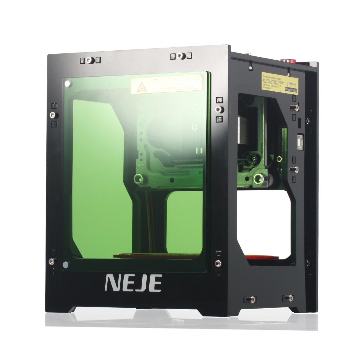 NEJE DK-BL 1500mW 405nm USB Laser Engraver Printer Laser Engraving Machine bluetooth APP Connection Built-in Battery