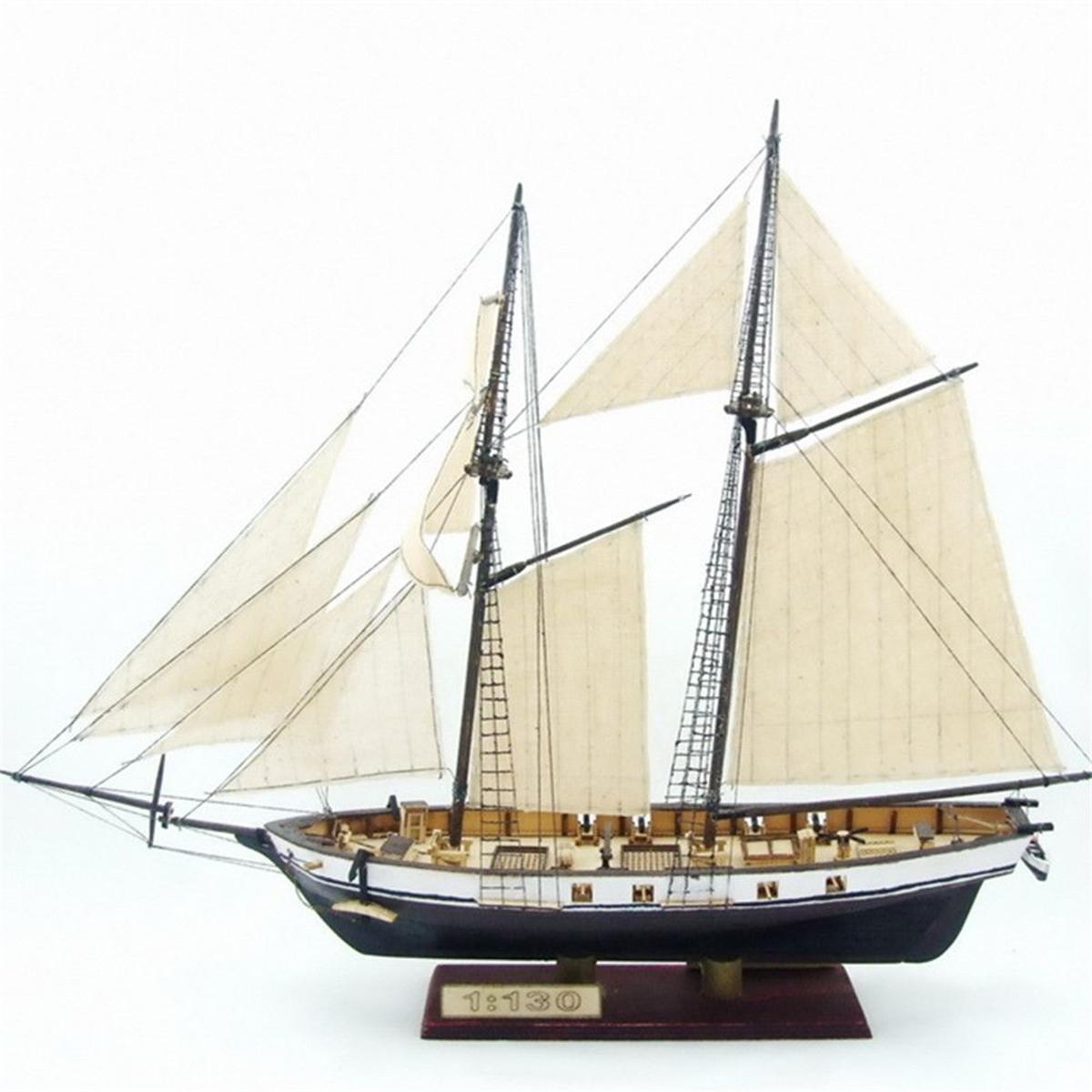 380x130x270mm DIY Ship Assembly Model Kits Classical Wo