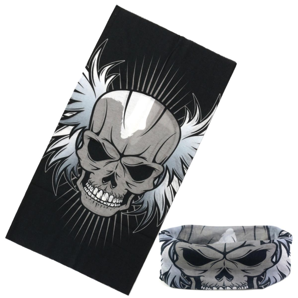 Skull Face Mask Multi-Use Motorcycle Cycling Head