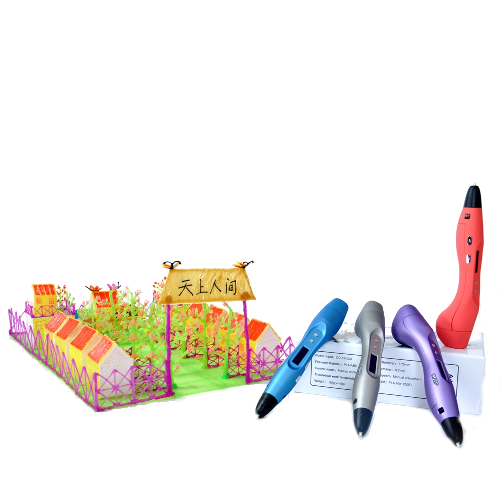 FUNWELL 3D Printing Pen V3 With OLED Screen A