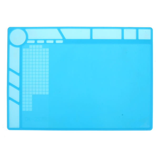 Heat Insulation Silicone Pad Desk Mat Repair Soldering