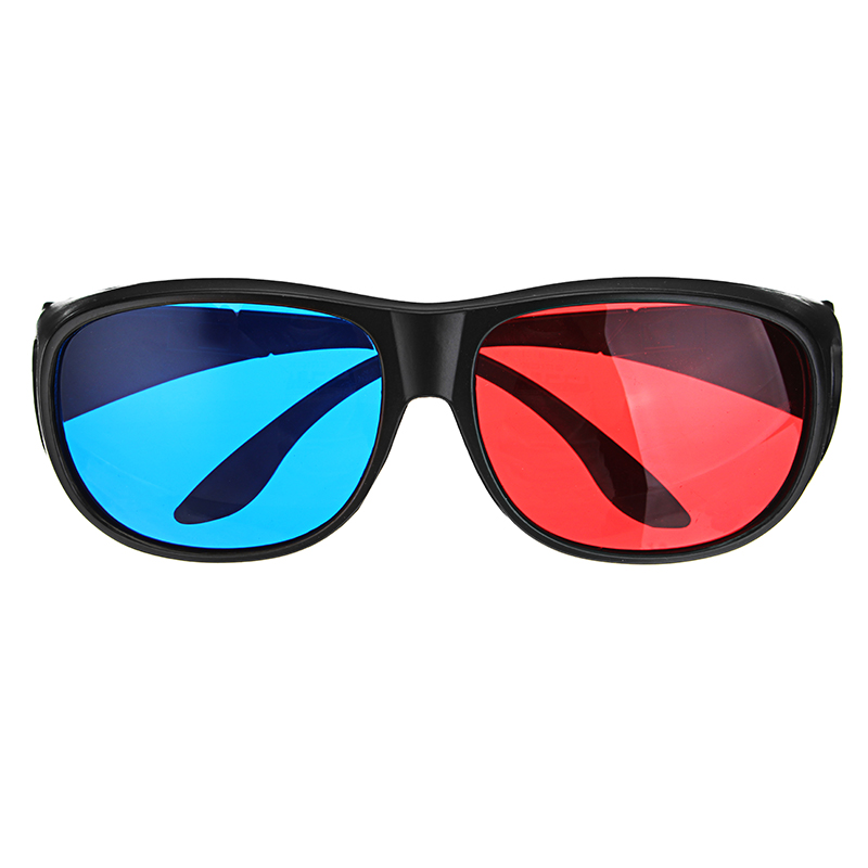 1Pcs Blue Red 3D Dimensional 3D Glasses For Home