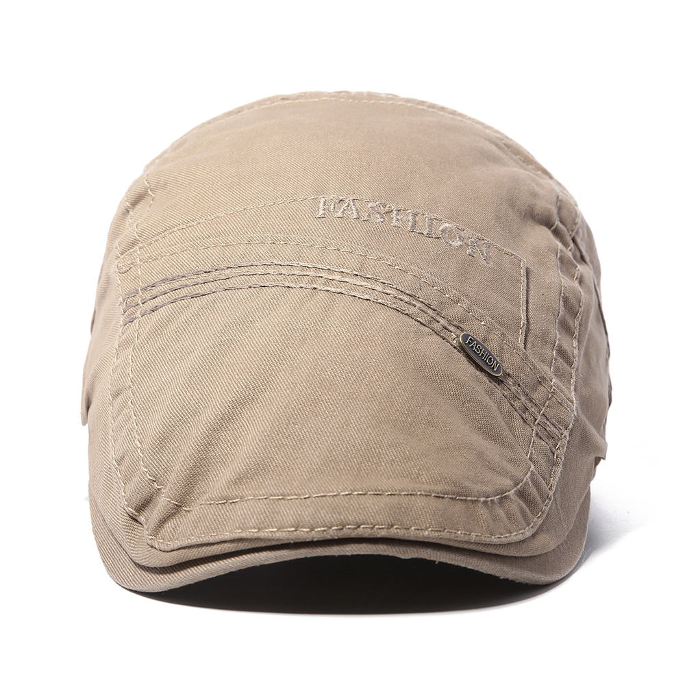 Casual Mens Literary Painter Beret Hat Cotton Adjustable Versatile Baseball Newsboy Caps