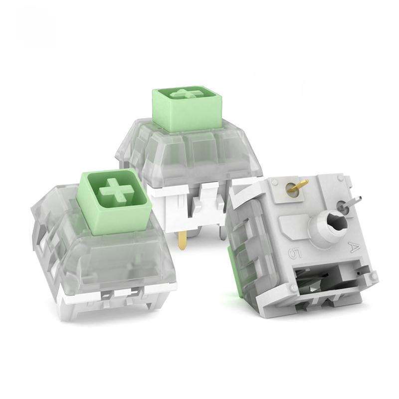 10Pcs Pack Kailh BOX Thick Clicks Jade Switch Key