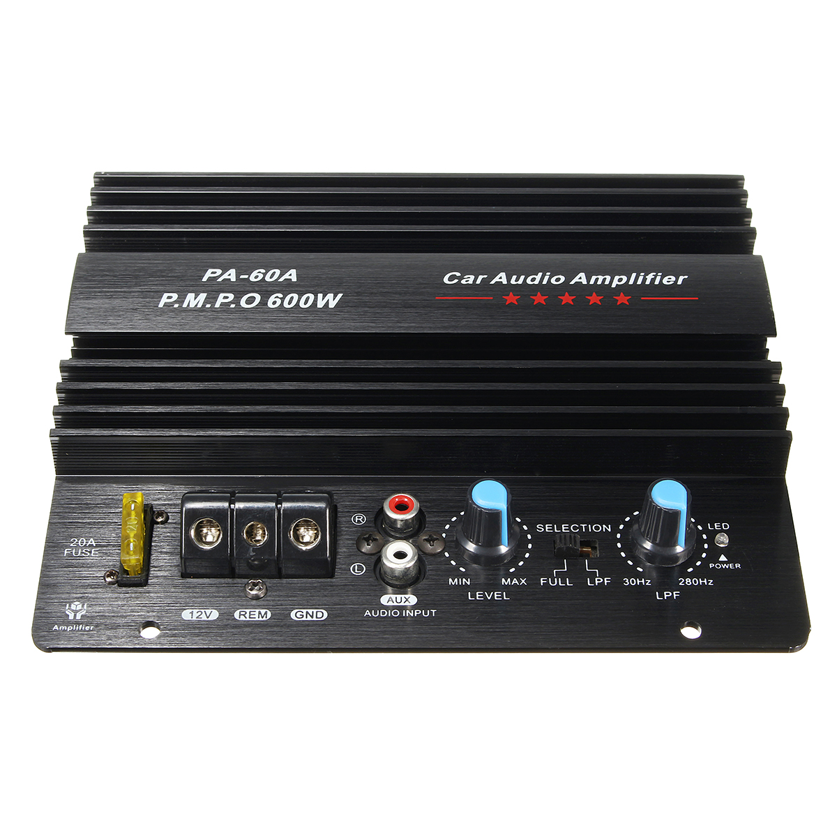 12V 600W High Power Audio Momo Amplifier Board Car Bass Subwoofers Amp PA-60A