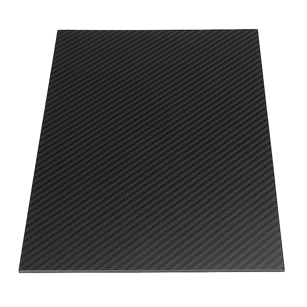 400X500mm 3K Carbon Fiber Board Carbon Fiber Plate Twill Weave Matte Panel Sheet 0.5-5mm Thickness