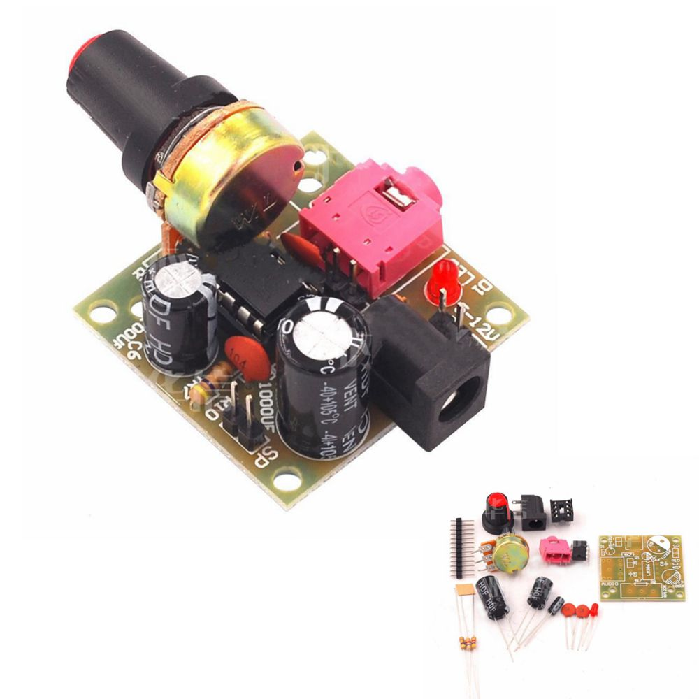 5pcs LM386 DC 3-12V 3.5mm Super Mini Audio Am