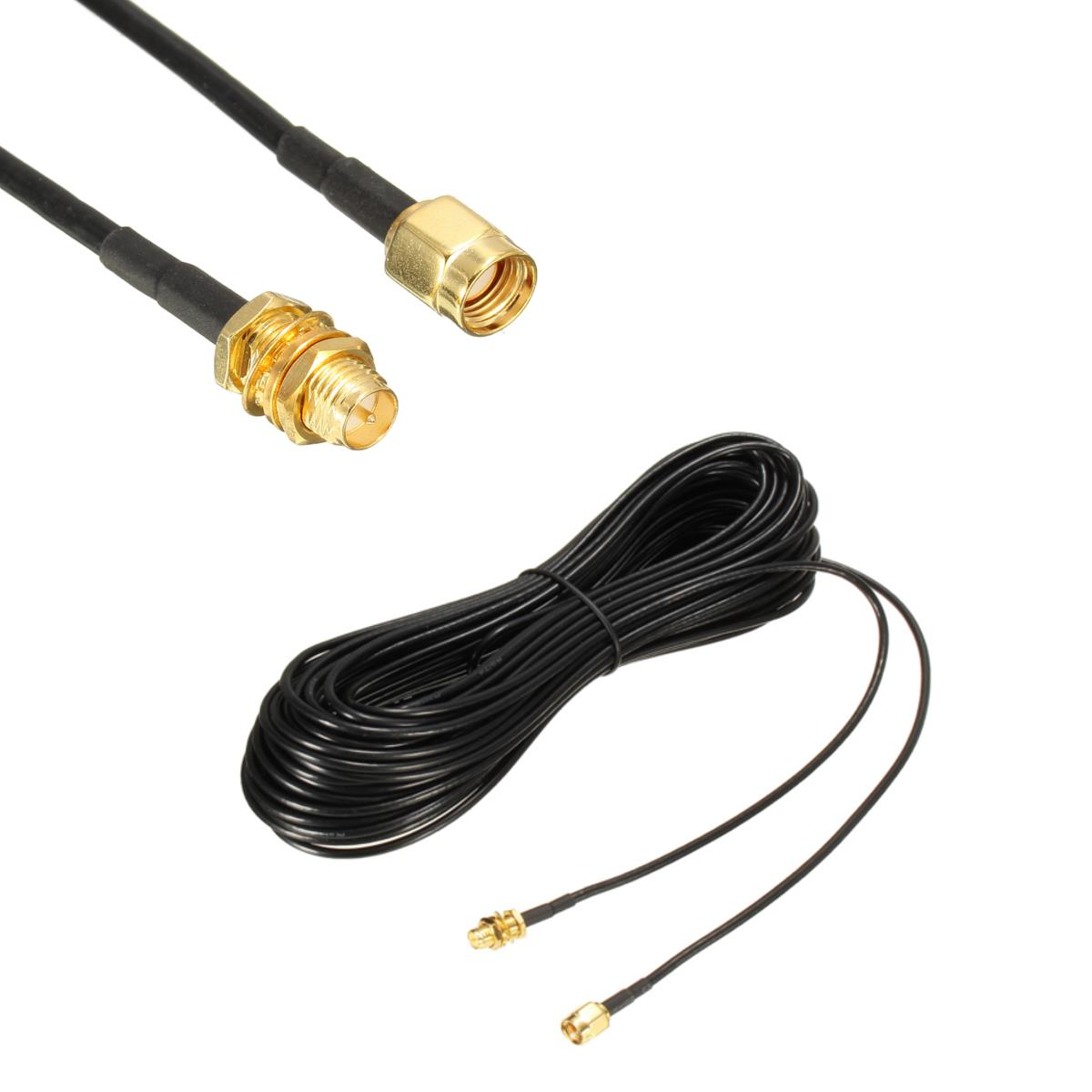 20CM/ 1M/ 5M/ 10M RP-SMA Male to Female Wireless