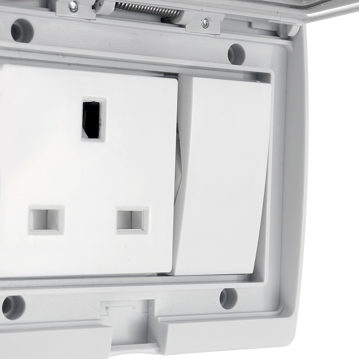 Waterproof Ip55 250v 13a Wall Socket Switch Child Safety