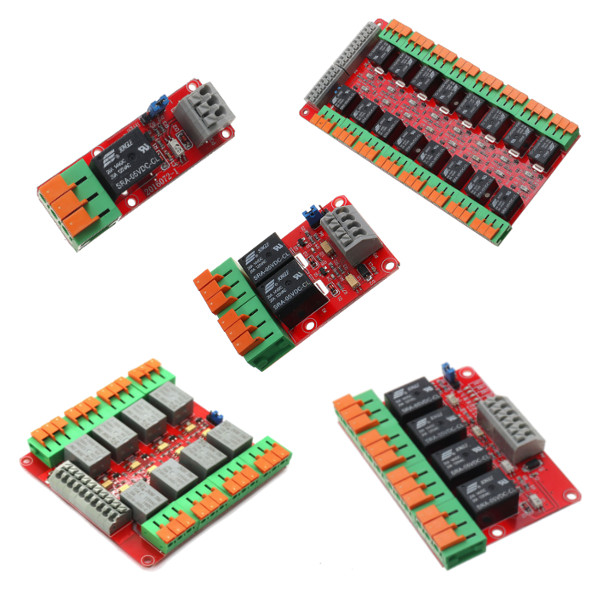 1/2/4/8/16 Channel 20A Relay Control Module F