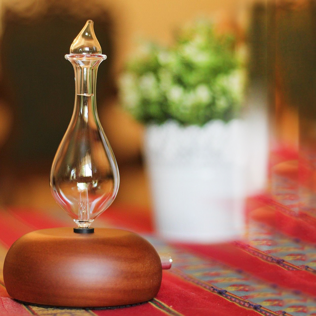 Wood & Glass Pure Essential Oils Diffuser Aromath