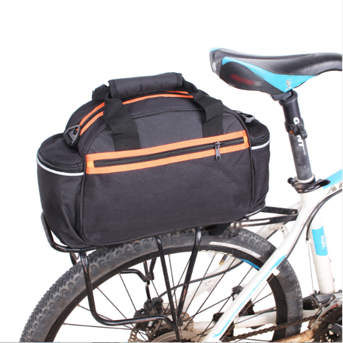 BIKIGHT 14L Bicycle Bag Bike Rear Pannier Seat Rack Bag