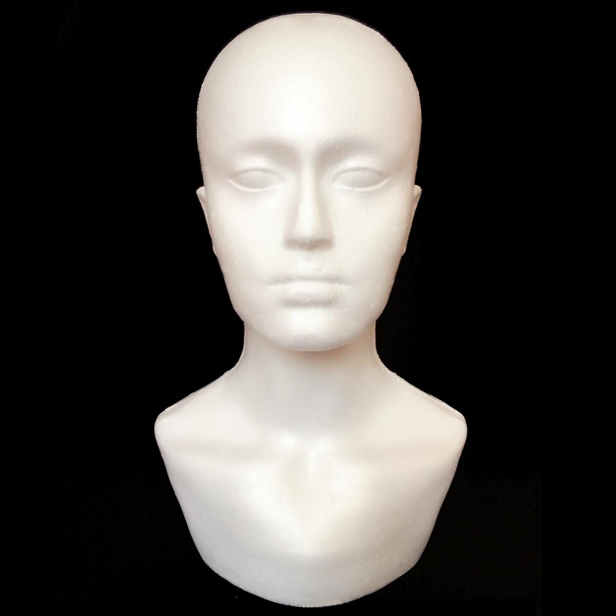Male Polystyrene Foam Mannequin Stand Model Displ