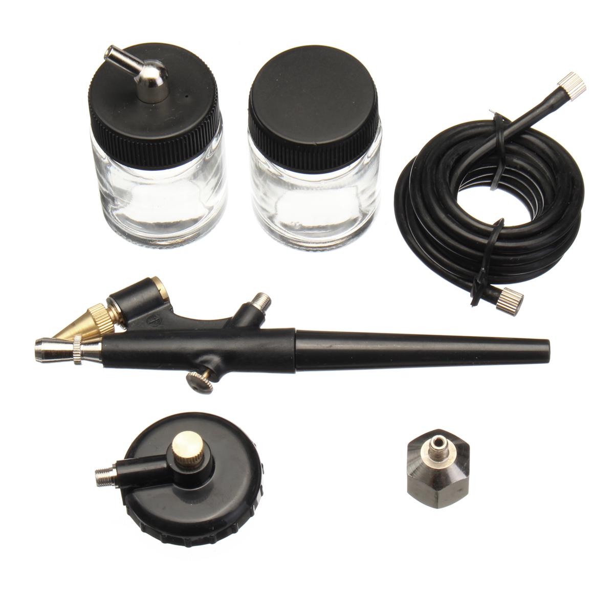 Mini Airbrush Spray Kit 22cc Ink Cup Hose Airbrush Paint Art Tool Kit Painter