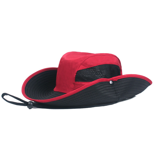 Men Folding Outdoor Sun Hat Quick-Drying Protection Hat