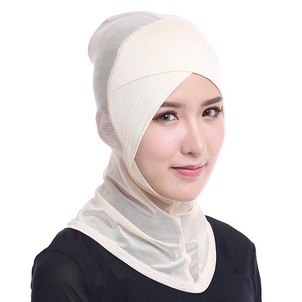 Women Hijab Hat Full Cover Inner Islamic Turban Head We