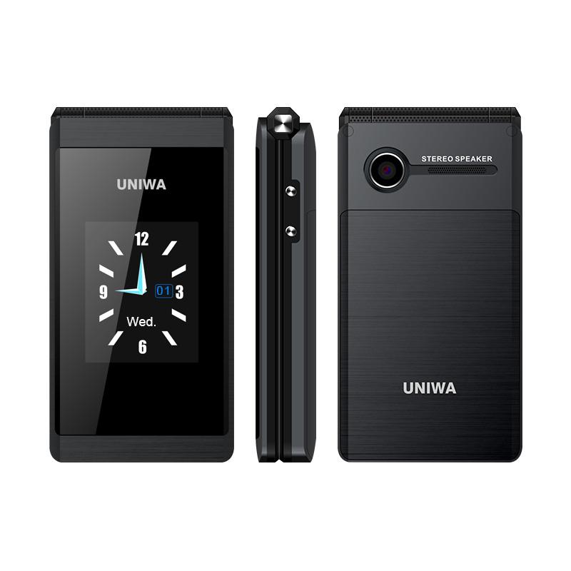 UNIWA X28 Flip Phone 1200mAh 2.8 inch Touch Screen