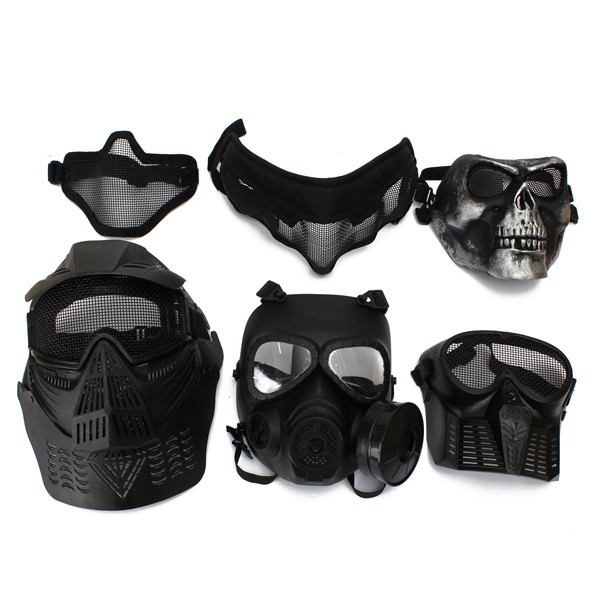 Protective Safety Mask For Paintball Airsoft Game