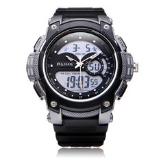 Alike AK1396 Sport Date Chronograph Alarm Black Men Wrist Watch