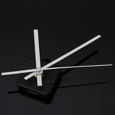 DIY White Hands Quartz Movement Mechanism Wall Clock