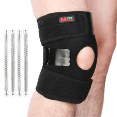 Spring Support Synthetic Rubber Knee Pad Strain Prevent Pressure Release Injury Recovery
