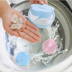 Стиральная машина Волосы Lint Remover Cleaning Сумка Прачечная Ball