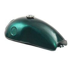 Motorcycle 10L 2.6 Gallon Cafe Racer Fuel Gas Tank For Suzuki/Yamaha/Honda/BWM Benelli Mojave