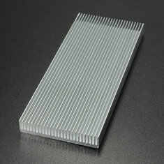 100x41x8mm Aluminum Heat Sink Heat Sink Cooler For High Power LED Amplifier Transistor Cooling