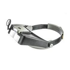 Head Magnifier Jewelry Watches Headset Headband LED Power Light Visor Glasses